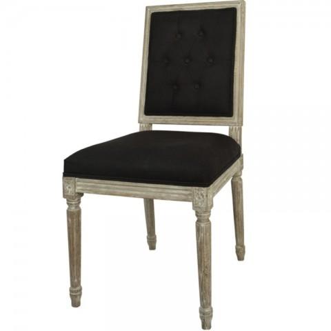 Artelore - Charpentier Black čalouněná židle