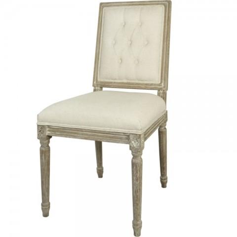 Artelore - Charpentier Ecru čalouněná židle