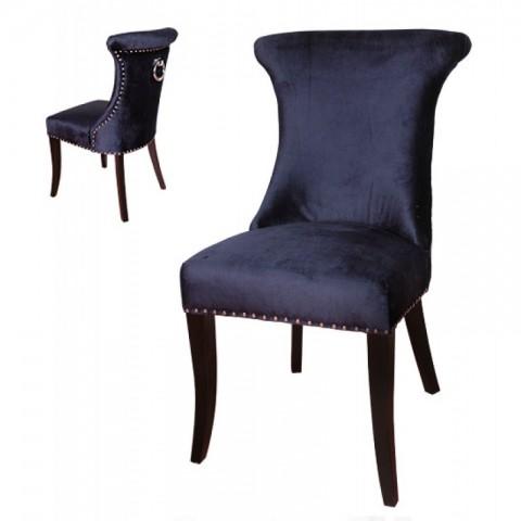 Artelore - Dark Blue Anvers čalouněná židle