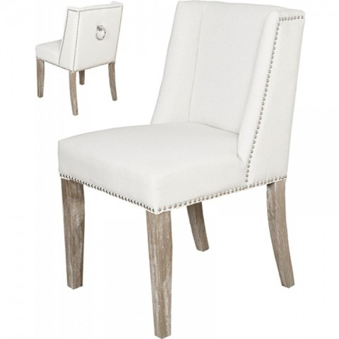 Artelore - Brens Ecru Oak čalouněná židle