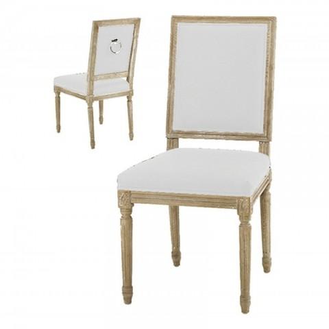 Artelore - Ecru Charpentier čalouněná židle