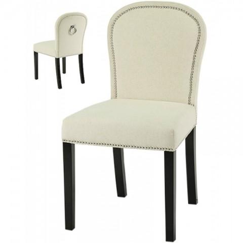 Artelore - Ecru Lauren čalouněná židle