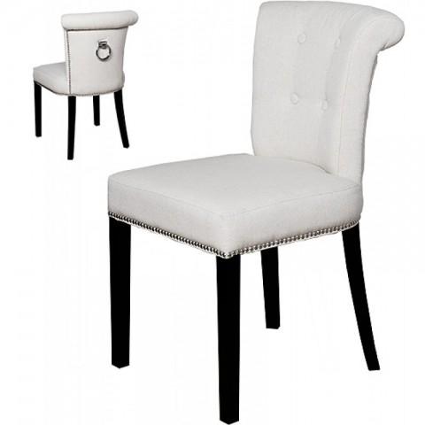 Artelore - Ecru Madison čalouněná židle