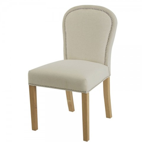 Artelore - Lauren Ecru čalouněná židle