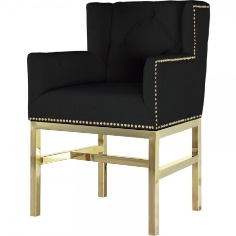 Artelore - Lorentz Black čalouněná židle