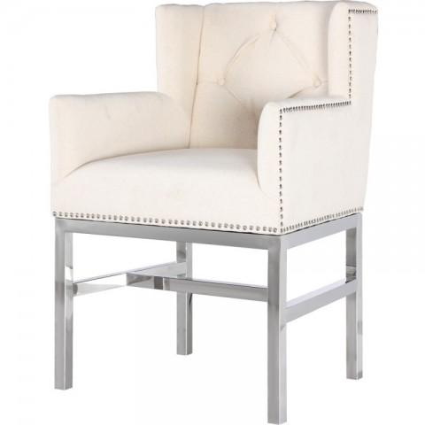 Artelore - Lorentz Ecru čalouněná židle