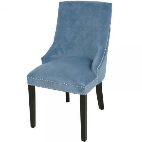Artelore - Low Blue čalouněná židle