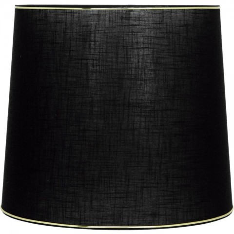 Artelore - Black L Cone Golden stínidlo