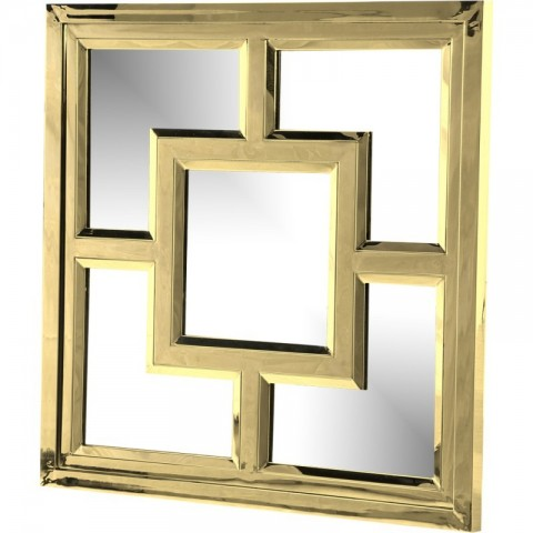 Artelore - Kube Gold Finish zrcadlo