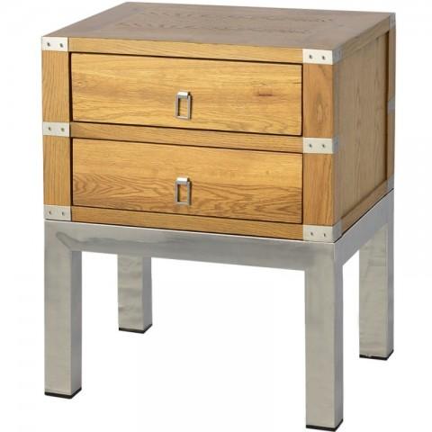 Artelore - Astrid Oak noční stolek