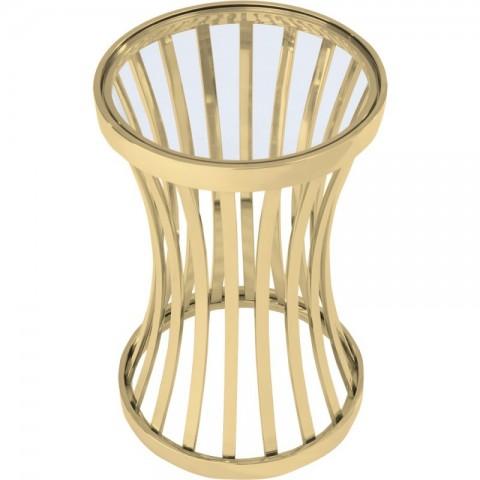 Artelore - Allegra Golden odkládací stolek