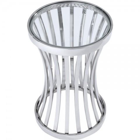Artelore - Allegra Nickel odkládací stolek