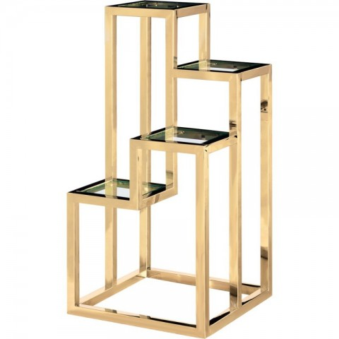 Artelore - Alvar Golden Left odkládací stolek