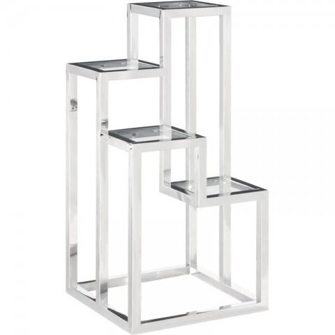Artelore - Alvar Nickel Right odkládací stolek
