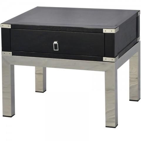 Artelore - Astrid Black odkládací stolek