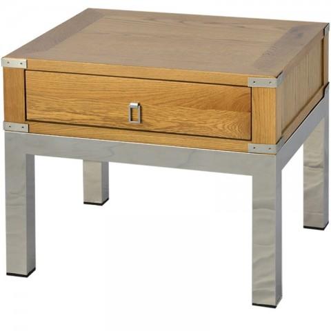 Artelore - Astrid Oak odkládací stolek