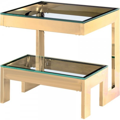Artelore - Babylon Golden odkládací stolek