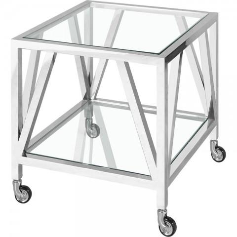 Artelore - Brooklyn With Wheels odkládací stolek