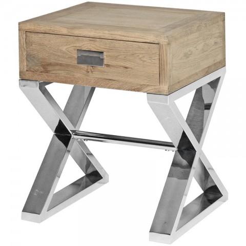 Artelore - Cardigan Brushed Oak odkládací stolek