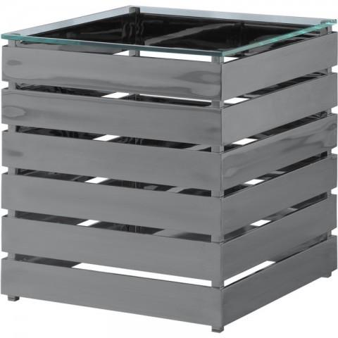 Artelore - Gehry Black Nickel Finish odkládací stolek