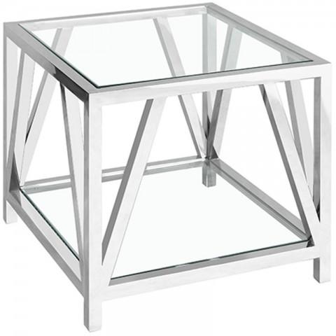Artelore - Glass Brooklyn odkládací stolek