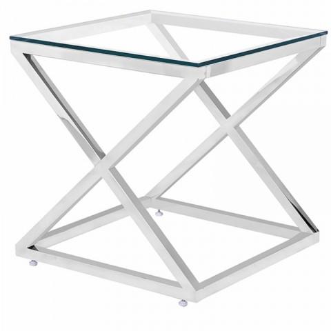Artelore - Glass Hermes odkládací stolek