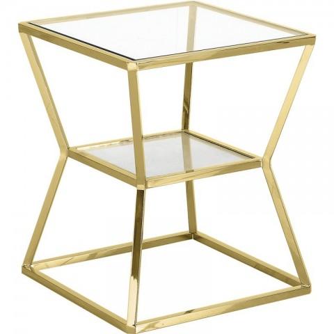 Artelore - Golden Ascari odkládací stolek