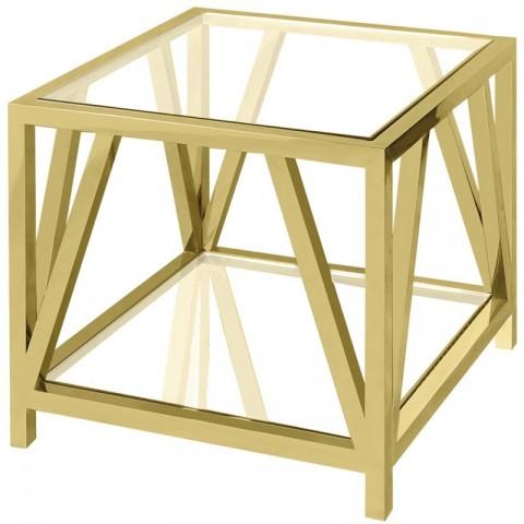 Artelore - Golden Brooklyn odkládací stolek