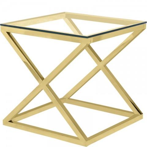 Artelore - Golden Hermes 60 odkládací stolek