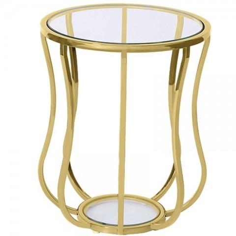 Artelore - Golden Iris odkládací stolek