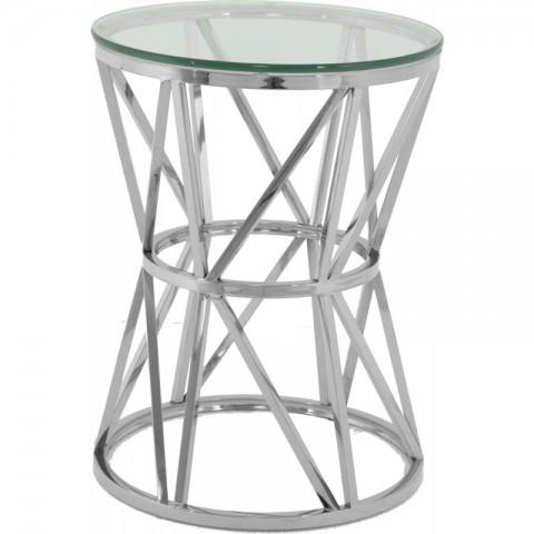 Artelore - Hali Nickel odkládací stolek