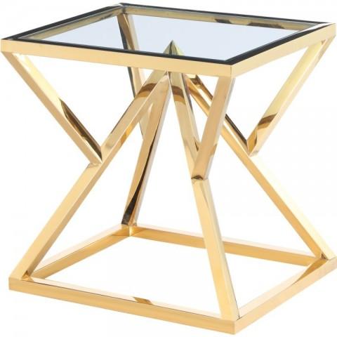 Artelore - Norma Golden odkládací stolek