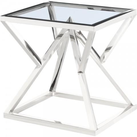 Artelore - Norma Nickel odkládací stolek