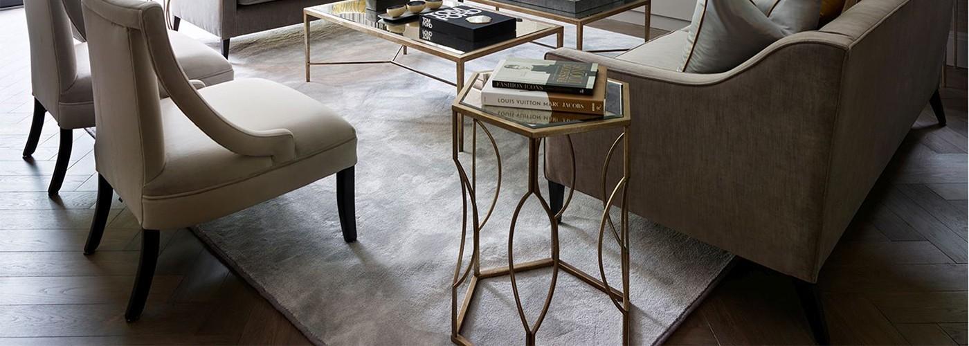 Odkládací stoly Artelore, Richmond Interiors, Liang & Eimil, RV Astley